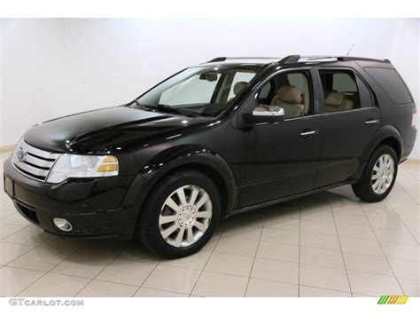 ford taurus x limited 2008 black 2008 ford taurus x limited exterior photo 92316429