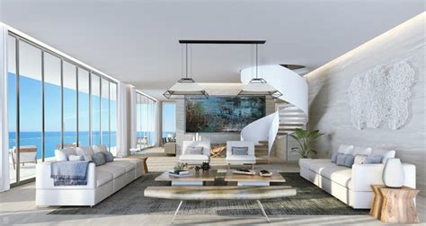 living room ft lauderdale real estate boom in fort lauderdale as auberge penthouse sells for record 9 5 million
