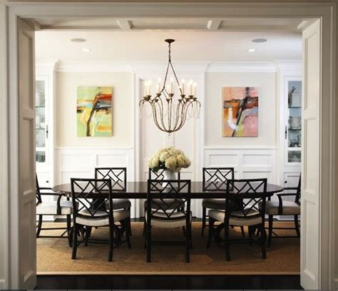 Dining Room Artwork by Abstract Landscape Oil Paintings Transitional Dining