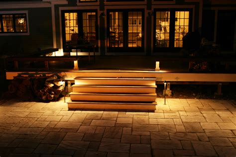 amazing deck lights ideas hard  simple outdoor