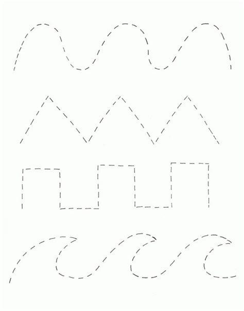 tracing lines preschool worksheets google search a pre k tracing page activities the o jays and zoom
