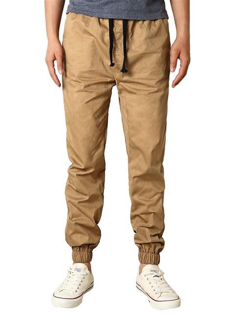 Celana Jogger Cargo Black Sweatpants Chino modchok s drawing elastic waistband chino foot cargo trousers