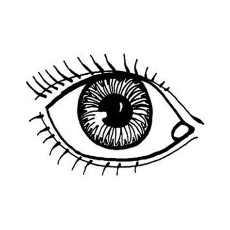 imagenes de ojos en dibujo dibujos del cuerpo humano 174 para colorear e imprimir
