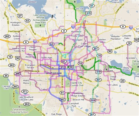 fsu cus map plan great bike routes in tallahassee using maps