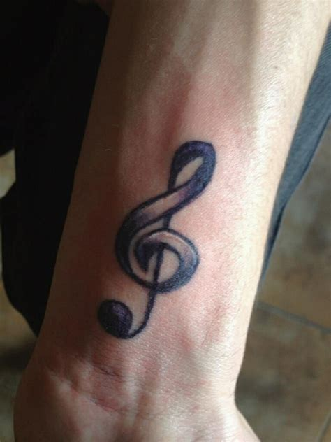 small treble clef tattoos 25 best ideas about treble clef on
