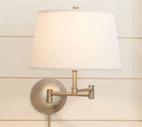 Wall Sconces Pottery Barn Chelsea Swing Arm Sconce Pottery Barn