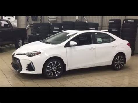 2018 toyota corolla se upgrade review youtube