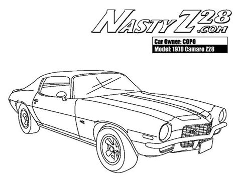 coloring pages camaro cars 67 camaro coloring coloring pages