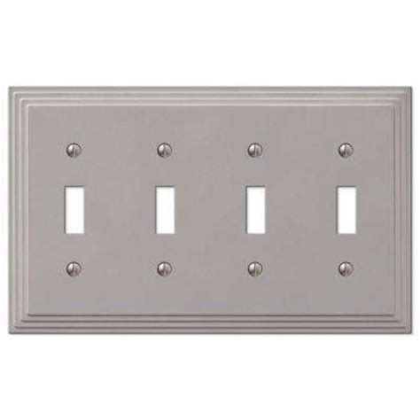 nickel toggle switch plates switch plates wall
