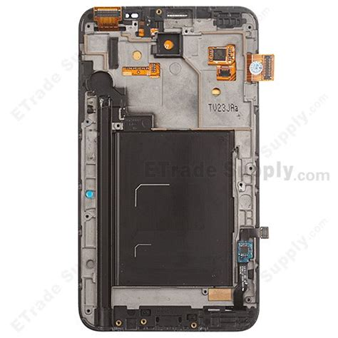 Samsung N7000 Note 1 Blue Ori Kaca Lcd Bkn Touchscreen 903060 oem samsung galaxy note gt n7000 lcd screen and digitizer assembly with front housing etrade