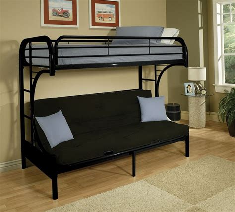 bunk beds with futon bunk beds with futon type roof fence futons build