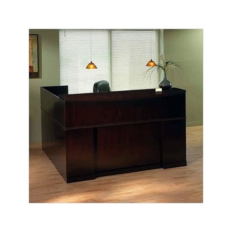 mayline sorrento reception desk mayline sorrento right l shaped reception desk srcsr