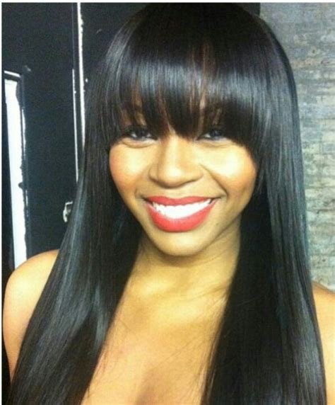 bang hairstyle with brazilian hair 1 bundle 7a brazilian virgin hair straight straight