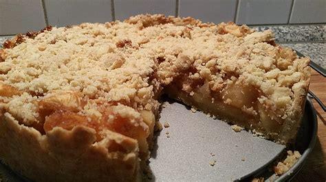 chefkoch veganer kuchen veganer apfel streusel kuchen rezept mit bild