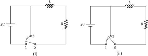 the diagram below shows two resistors connected in series to a 20 volt battery battery an inductor and a resistor are connected in series as shown in the diagram below 28