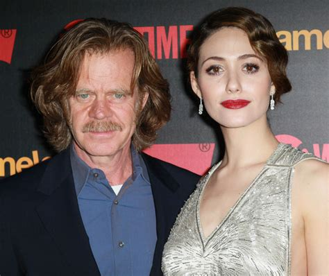 emmy rossum is married to emmy rossum married william h macy fhoto