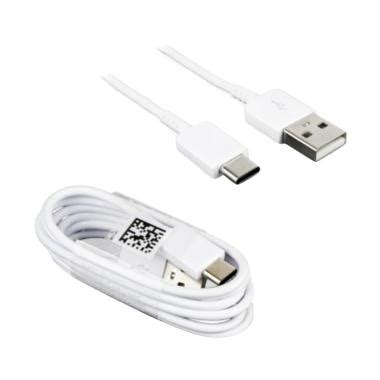 Samsung Kabel Data Putih jual samsung original type c kabel data for a520 or a720