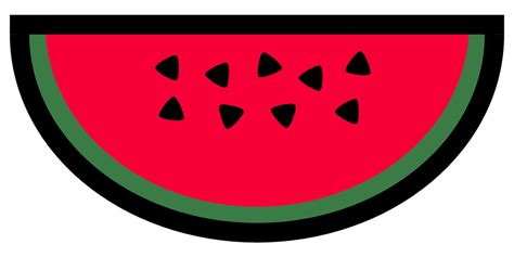Semangka Vektor free vector graphic melon fruit food seeds free