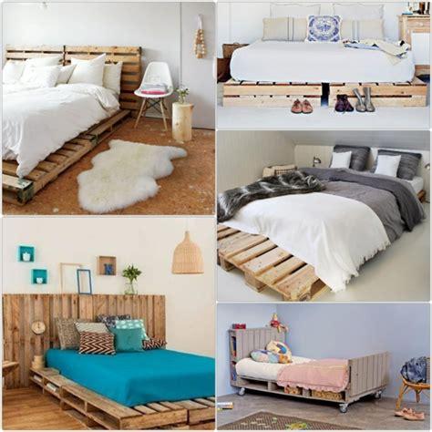 bett aus paletten bett aus paletten im eigenen schlafzimmer inspirierende