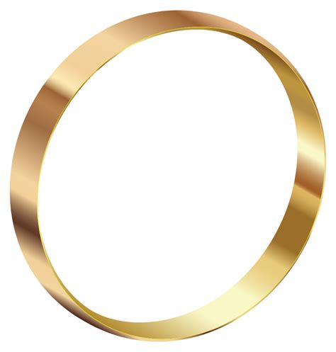 onlinelabels clip gold ring standing