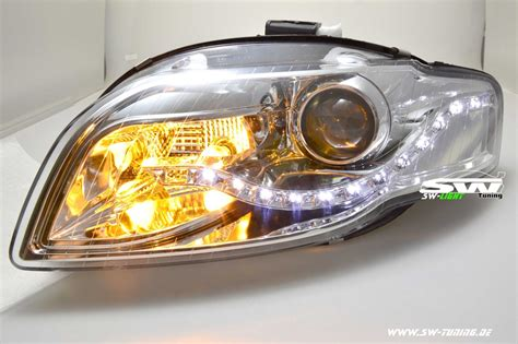 Led Len Kaufen Günstig by Sw Light Headlights Audi A4 B7 8h Cabrio 04 08 Led
