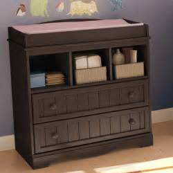 Espresso Changing Table Dresser South Shore Changing Table Choose Your Finish Walmart