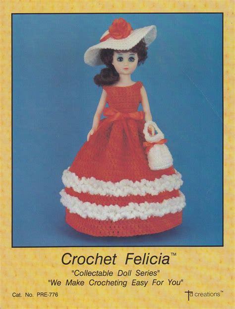 td fashion dolls felicia td creations crochet 15 in fashion doll clothes