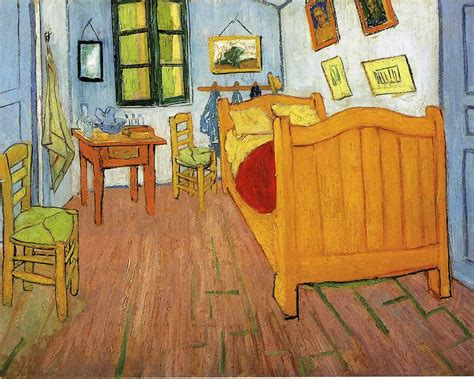 vincents bedroom in arles vincent gogh wallpaper image