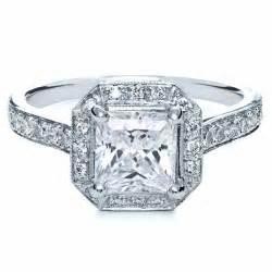halo ring halo ring for princess cut