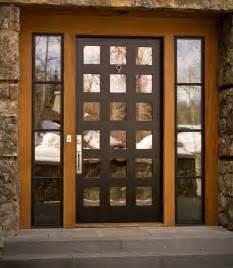 Smitten by mighty oak wood doors blulabel bungalow interior