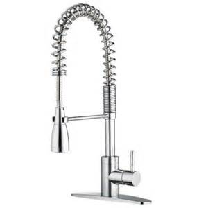 Commercial Kitchen Faucets For Home belle foret pre rinse commercial 1 handle side sprayer kitchen faucet