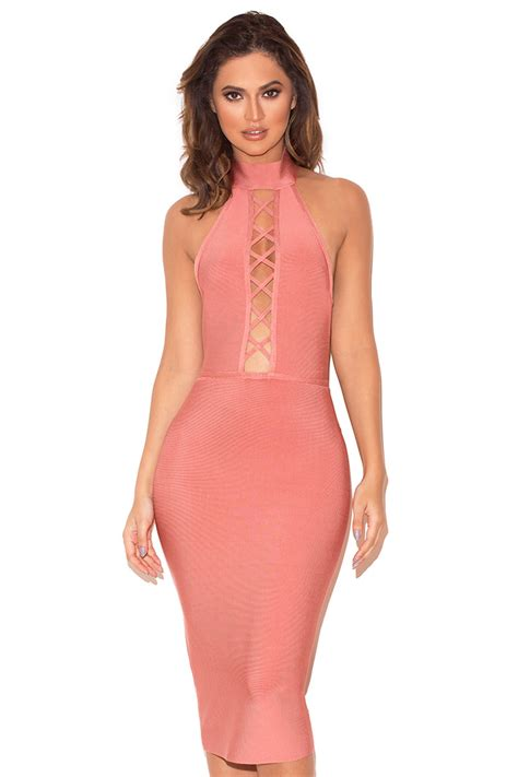 Lace Up clothing bandage dresses taavi lace up bandage