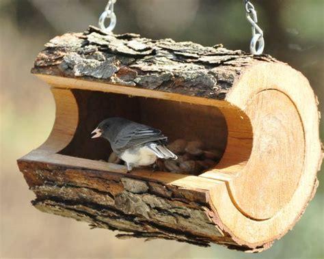 unique diy log crafts bird houses diy homemade bird