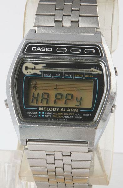 Casio Vintage Melody vintage casio melody alarm m 321 guitar bangkokjunkman