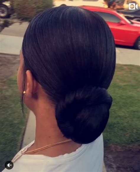 slick back weave hairstyles slicked ponytail with bun ponytail with extension