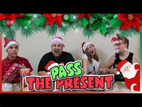 christmas pass the gift pass the present challenge pass the parcel jorjabriteny ep70