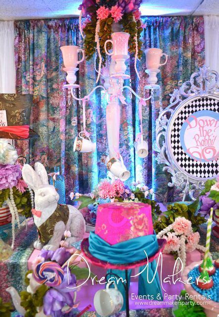 Alice in Wonderland Quinceañera Party Ideas   Alice in