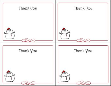 printable thank you cards for students christmas printable thank you cards for christmas new calendar