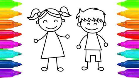 imagenes niños aprendiendo c 243 mo dibujar a los ni 241 os ni 241 a y ni 241 o aprender a