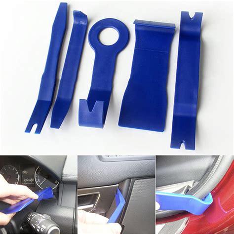 Bedong Luvable Planel 5 Pcs 5pcs car door plastic trim panel dash installation removal pry tool kit repair in tool sets