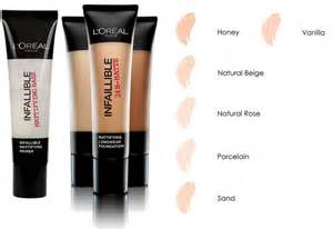 l shades l oreal infallible 24h matte foundation primer brand new