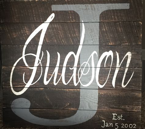 Wedding Anniversary Materials by Personalized Family Name Wedding Anniversary Recycled