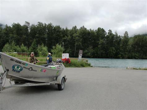 boat launch kasilof river kenai alaska salmon fishing charters