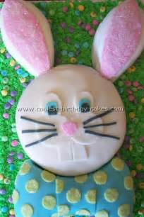 decorating a bunny cake how to decorate an easter bunny cake by culinary traveller