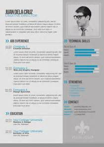 Resume Sample Modern by Free Modern And Simple Resume Cv Psd Template Thetotobox