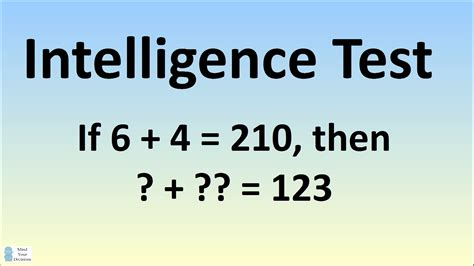 intelligenze test can you solve this intelligence test the science explorer