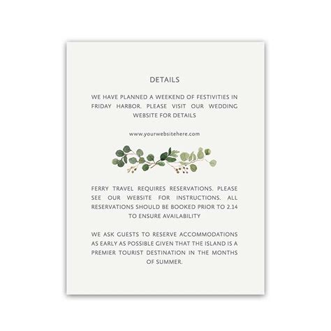 what to include on wedding enclosure cards additional information cards archives noted occasions