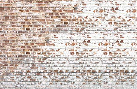 White Paint Bricks Wall Mural   MuralsWallpaper.co.uk
