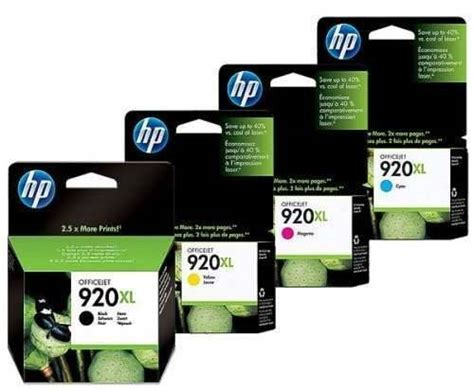 Tinta Hp 920 Xl Color insumos de impresion cartucho original hp 920 xl color