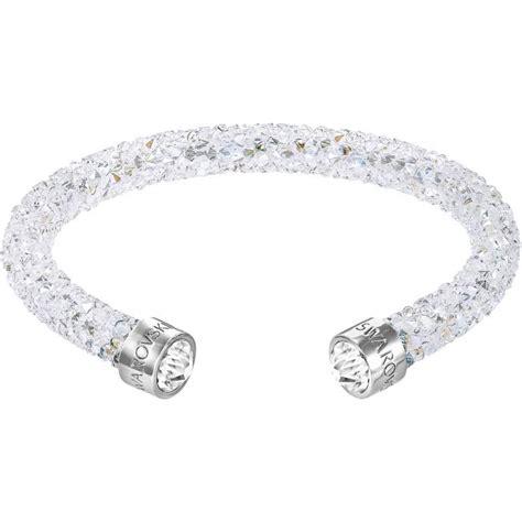 Blanc De Blancs Bracelet bracelet cristaux blancs swarovski bracelet sur look 233 or
